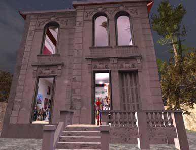 La Maison Virtuelle De Moya Sur Second Life With Maison